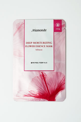 Skincare - Mamonde Flower Essence Mask - Hibiscus
