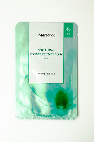Skincare - Mamonde Flower Essence Mask - Lotus