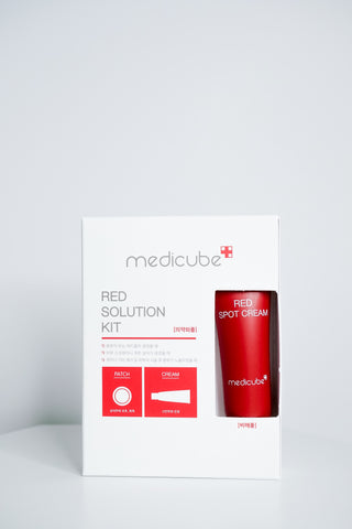 Skincare - Medicube Red Solution Kit (Patch + Spot Cream)