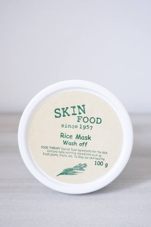 Skincare - Skinfood Rice Mask Wash Off Pack