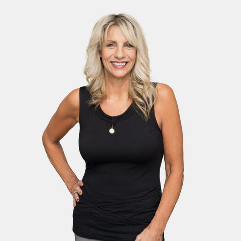 Seriously Soft™ TuckTop™ Tank - Black in XS to 3XL