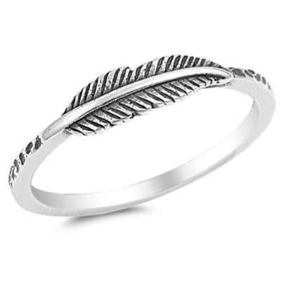 The Perfect Feather Ring