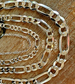 2.3MM Figaro Chain