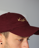 Maroon Dad Hat