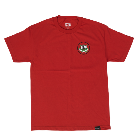 Red Crest Tee