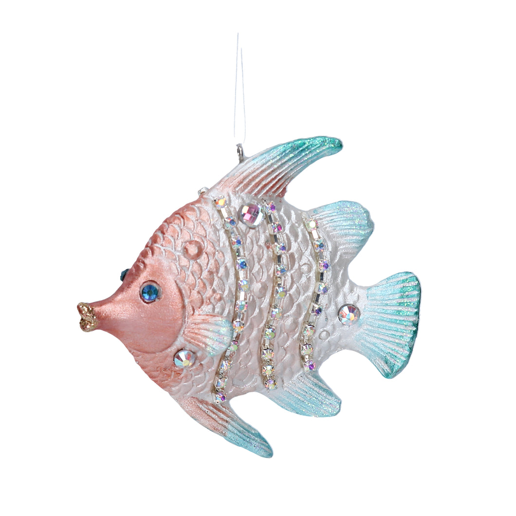 Flat Fish Christmas Tree Decoration - LilyKing