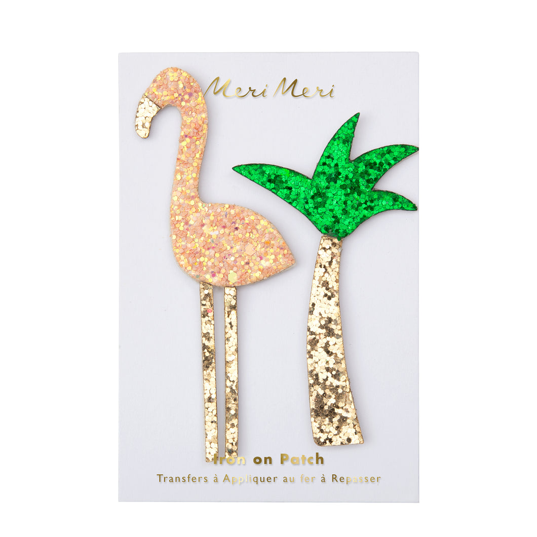 Glitter Tropical Patches