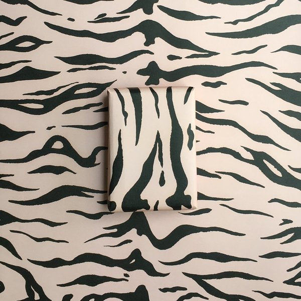 Tiger Wrapping Paper - Pale Pink