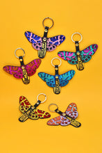 Butterfly Keyring - Blue / Pink