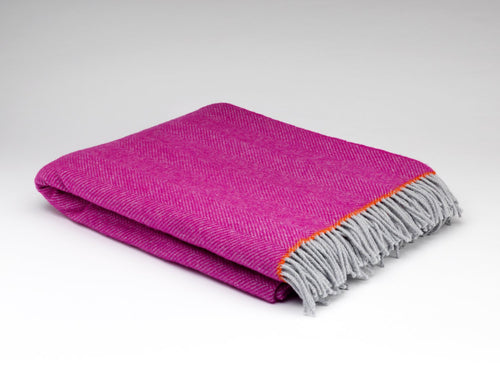 Mabel Wool Throw - LilyKing