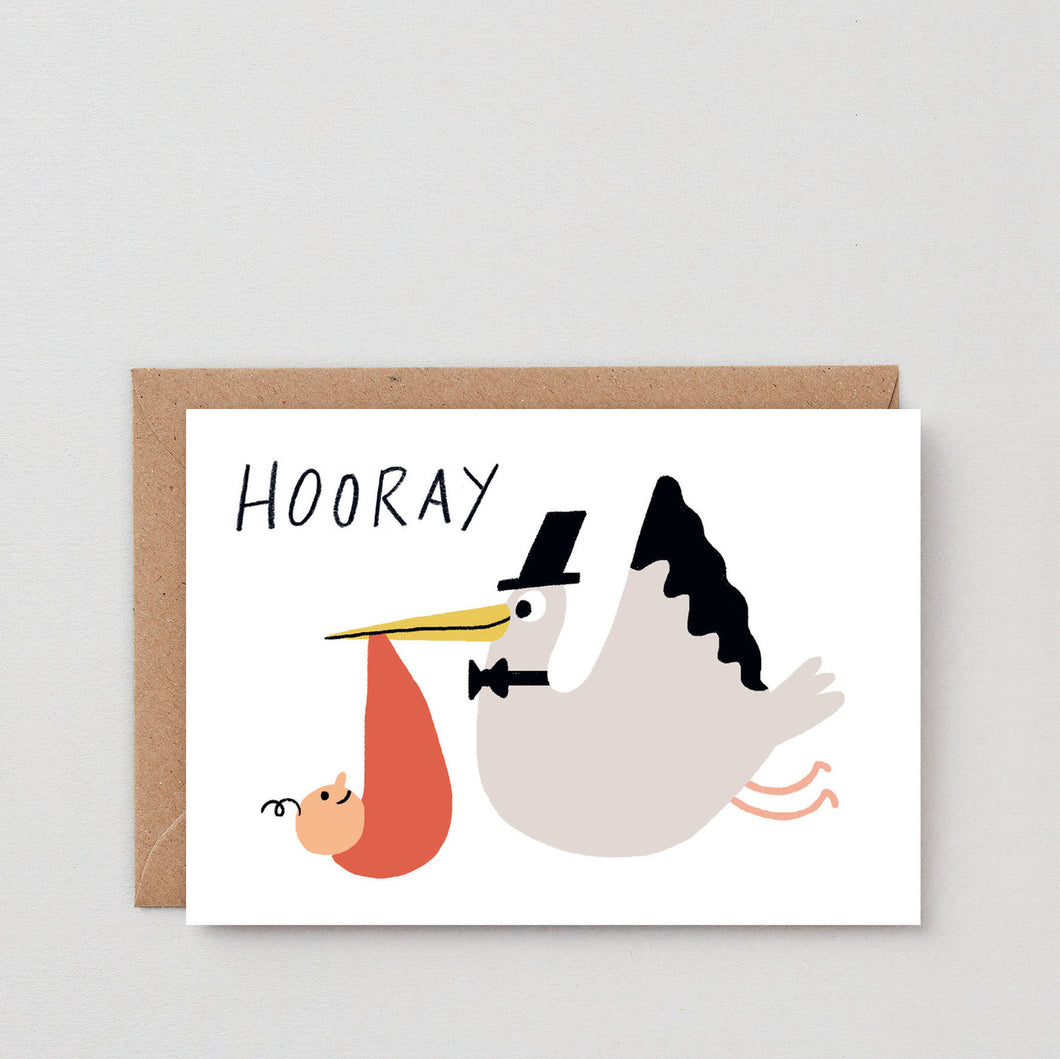 Hooray Stalk Greeting Card