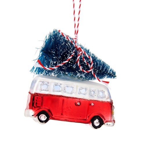 Camper Van Christmas Tree Decoration