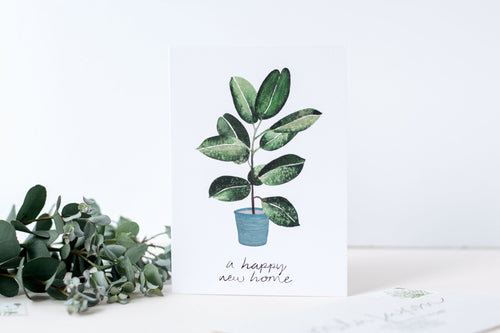A Happy New Home Card - LilyKing
