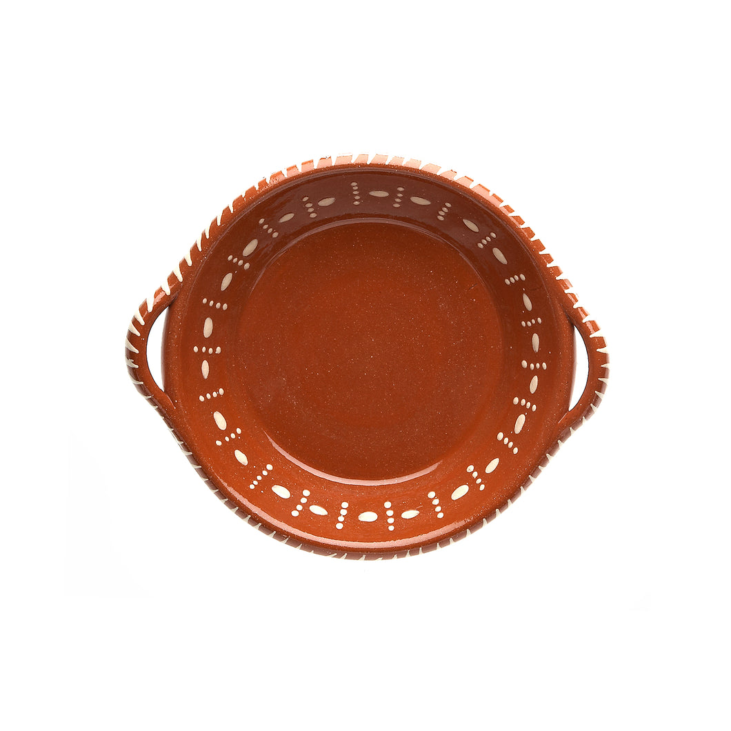 Terracotta Serving Dish with Handles