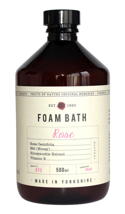 Rose Foam Bath