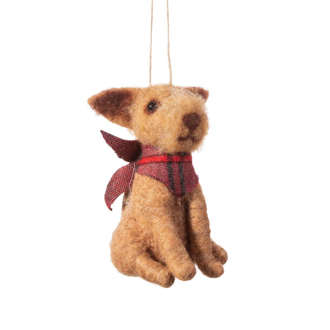 Dog Christmas Tree Decoration