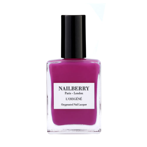 Hollywood Rose pink nail polish by independent beauty brand Nailberry