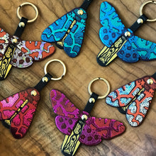 Butterfly Key Fob - Turquoise / Green
