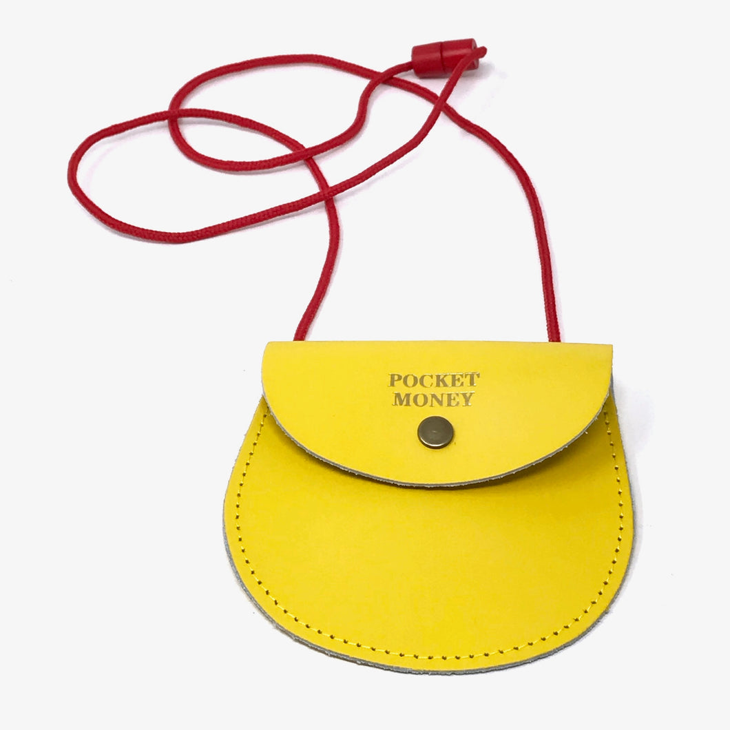 Pocket Money Purse - Yellow