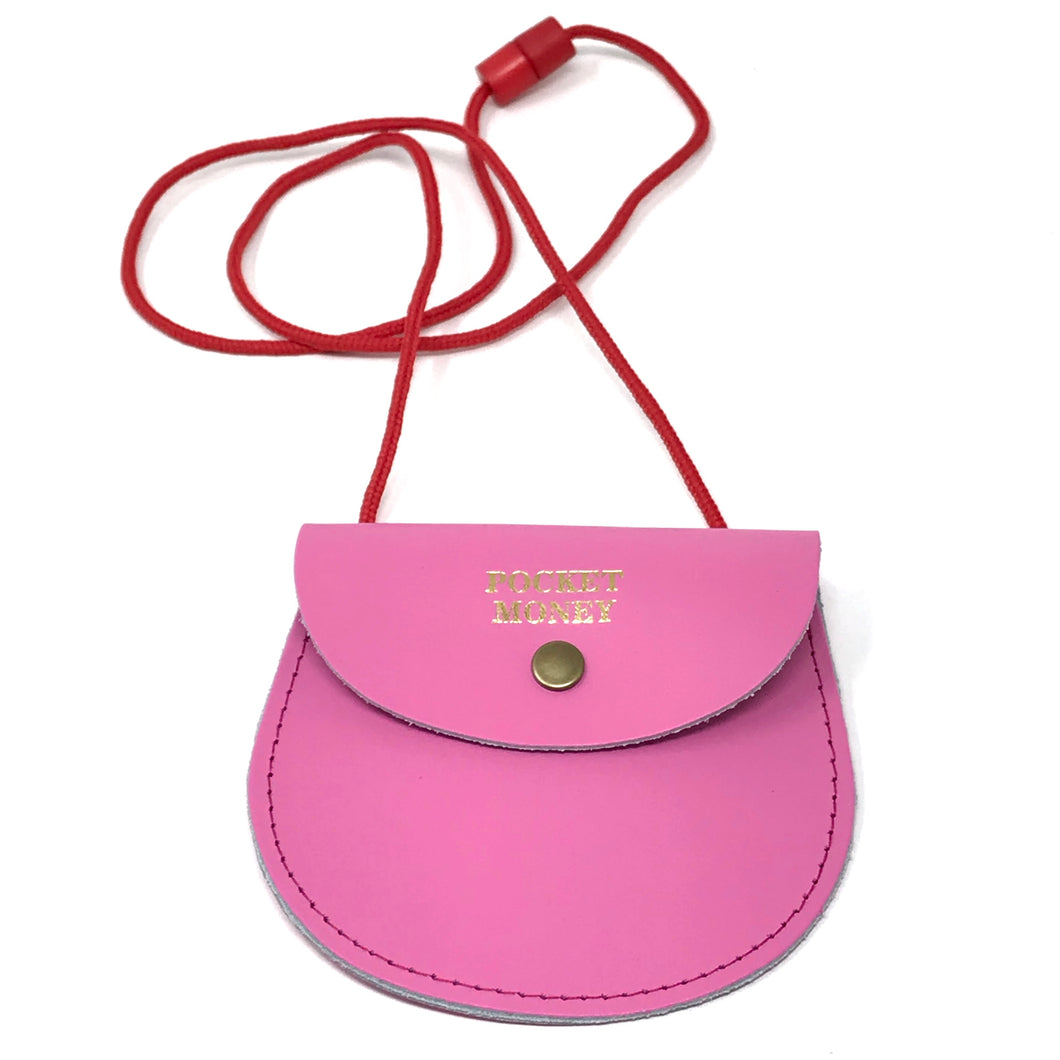 Pocket Money Purse - Pink