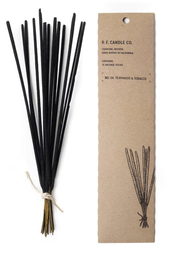 Teakwood & Tobacco Incense Sticks