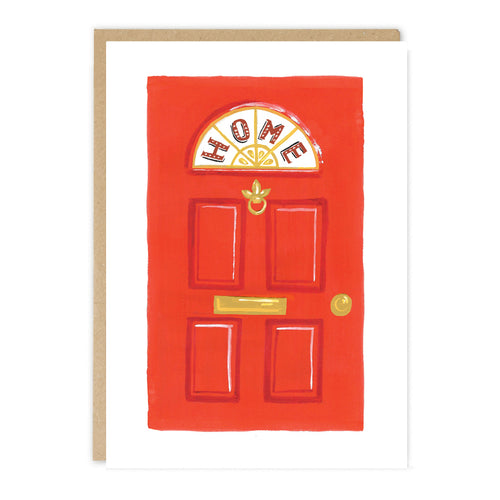 'New Home' greeting card by independent paper goods brand Jade Fisher