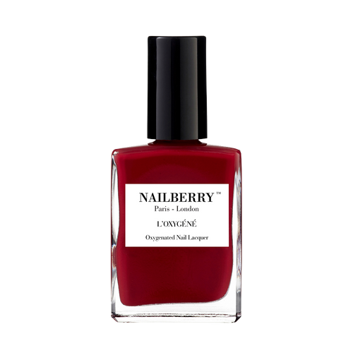 Les Temps Des Cerises burgundy nail polish by independent beauty brand Nailberry