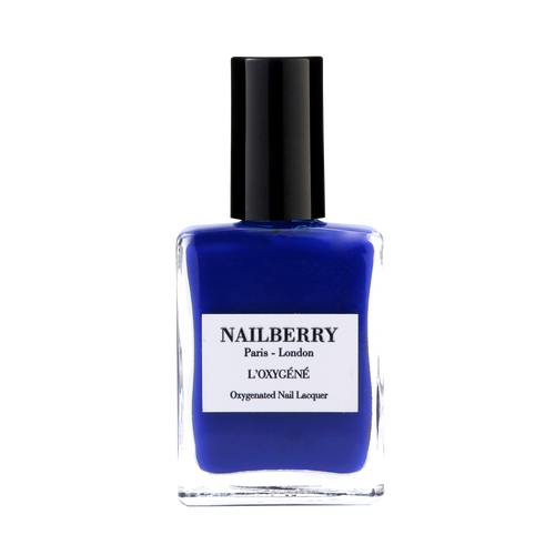 'Maliblue' blue nail polish by independent beauty brand Nailberry