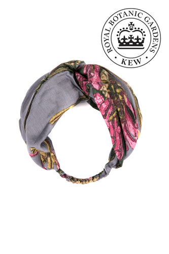 Kew Magnolia Headband - Grey - LilyKing