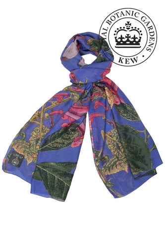 Kew Magnolia Scarf - Purple - LilyKing