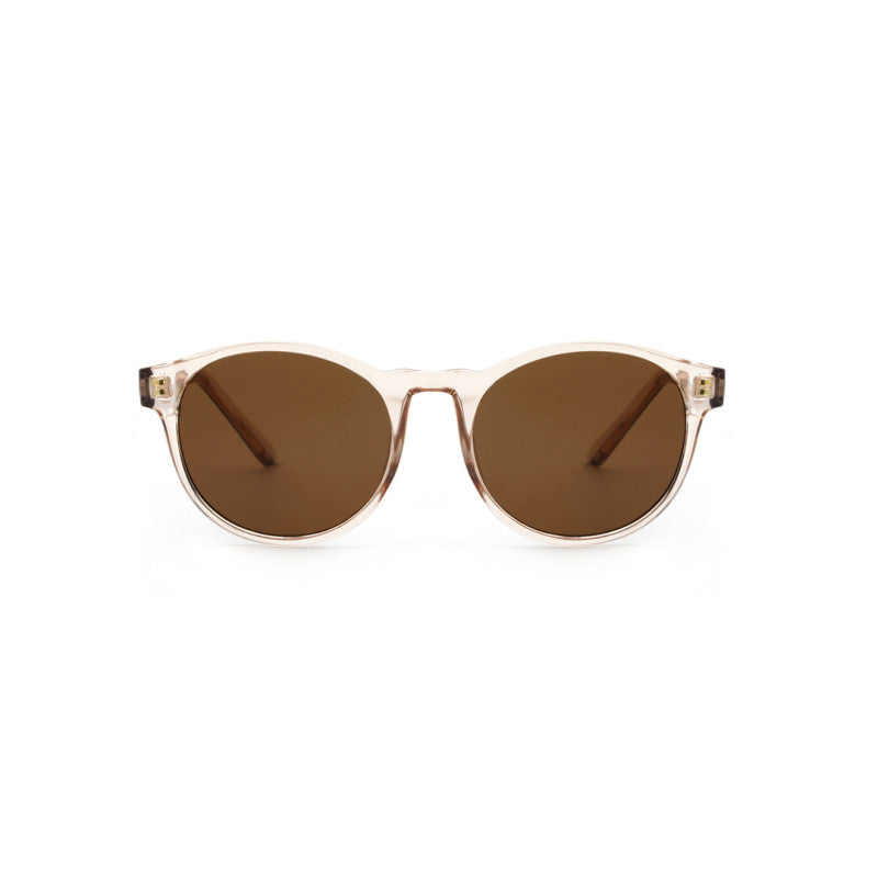 Marvin sunglasses in Champagne by Danish brand A.Kjaerbede