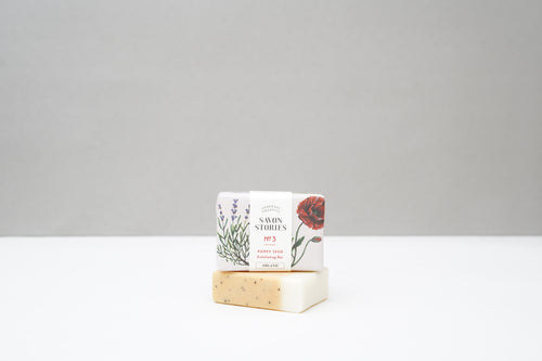 No.3 Poppy Seed Soap - LilyKing
