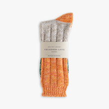 Charlie Socks - Orange & Green