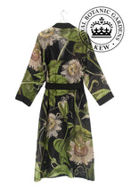 Kew Passion Flower Gown - Black