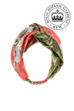 Kew Passion Flower Headband - Coral - LilyKing