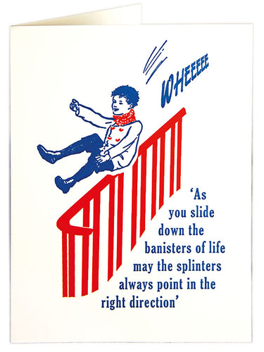 The Banisters of Life Card