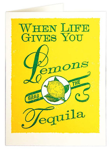 Lemons and Tequila Card - LilyKing