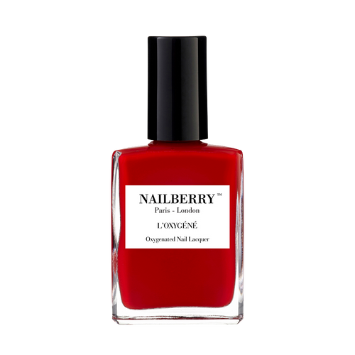 'Rouge' classic red nail polish by independent beauty brand Nailberry
