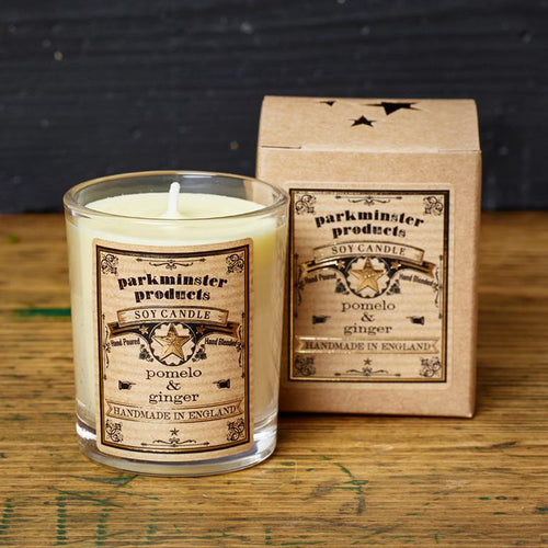 Small Votive Candle - Cucumber & Mint - LilyKing