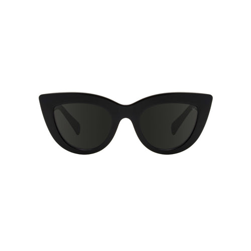 Stella cat eye sunglasses in Black by Danish brand A.Kjaerbede