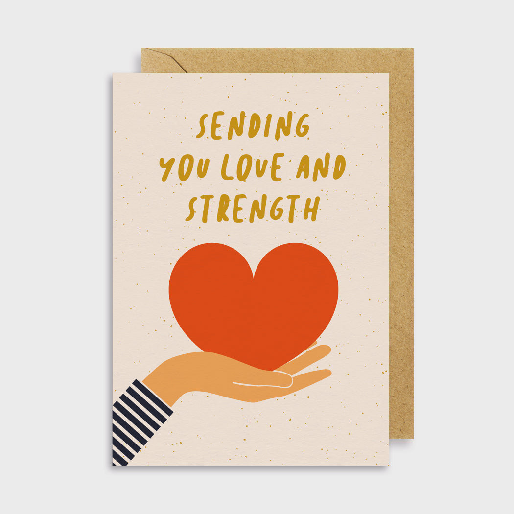 Love & Strength Card