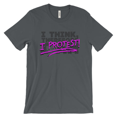 I Think, Therefore I Protest - (ML)