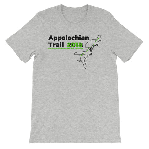 Appalachian Trail 2018 -- (Green ink)