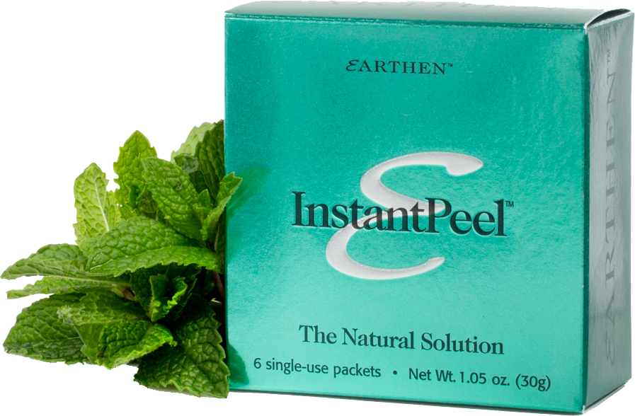 Use InstantPeel to exfoliate your whole body