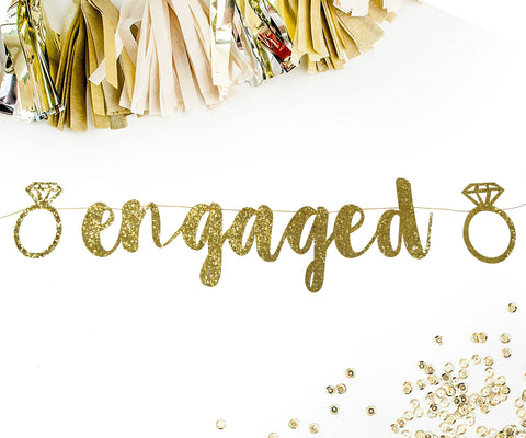 PartyFuFu Engaged Bachelorette Banner