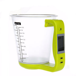 4 Uses- In 1 Digital scale Measuring Cup Thermometer countdown timer