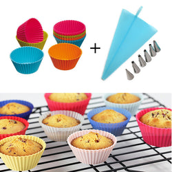 Baking Cupcakes & Cupcake Decoration Set