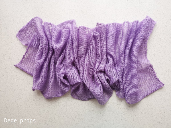 PURPLE SAGE wrap- newborn size