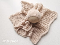LIGHT BEIGE hat- newborn size