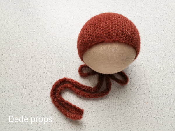 RUST hat- newborn size